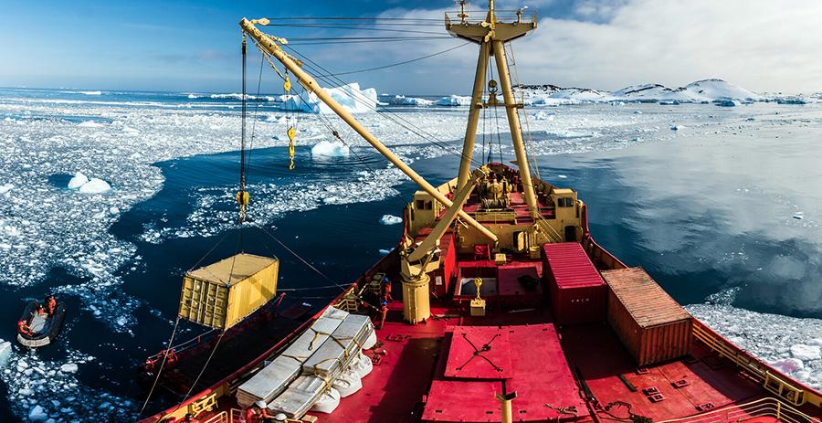 Antartica - carguero