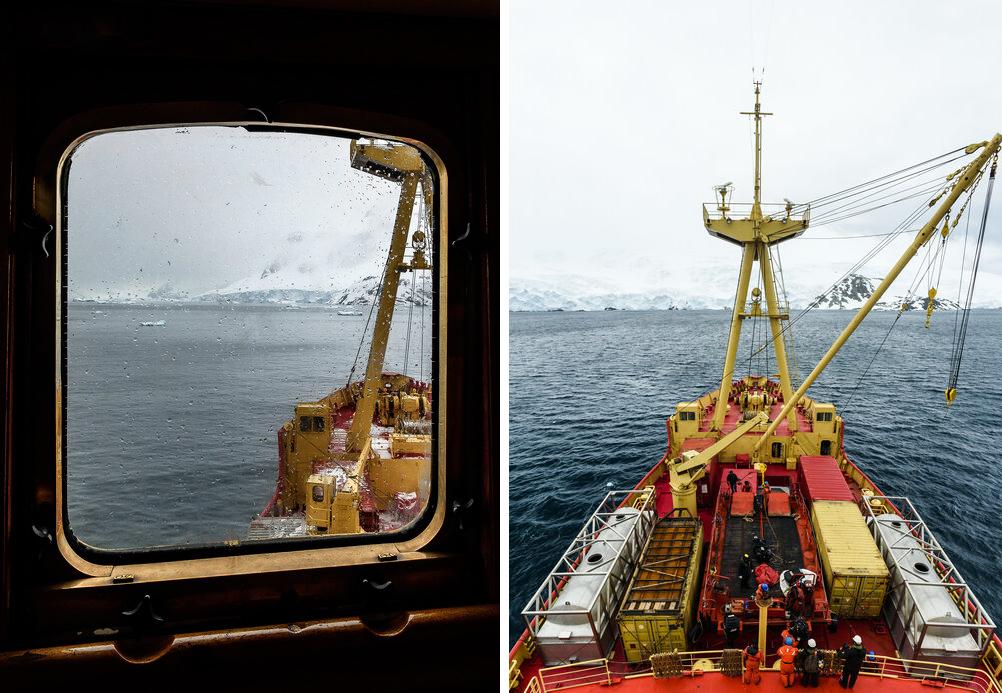 Antartica - rompehielos