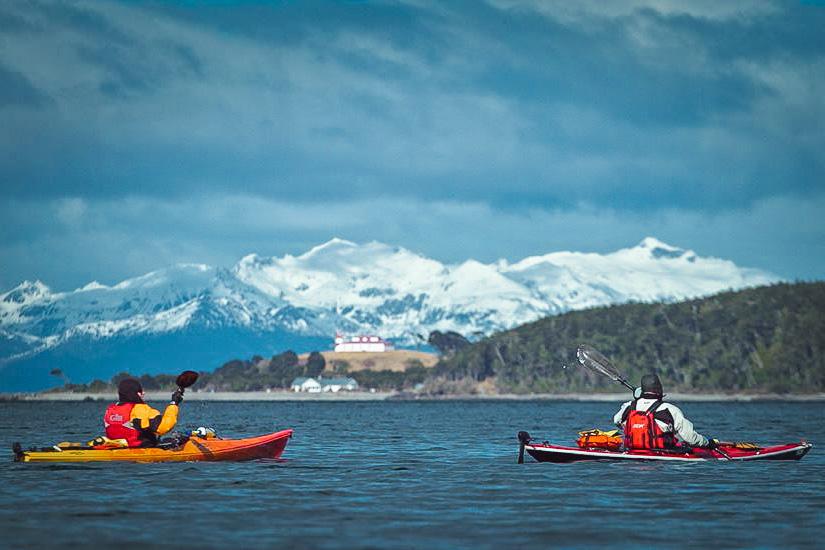 Kayak Faro San Isidro - Punta Arenas